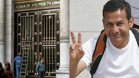 Elección de Humala hace tambalear a la Bolsa de Lima. (Foto: Archivo)