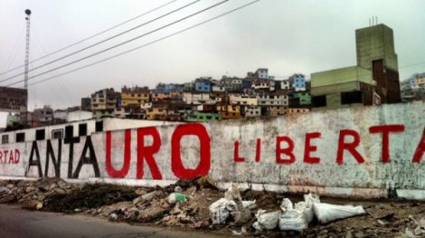 Exigen la libertad del líder etnocacerista. (Foto: Esther Vargas)